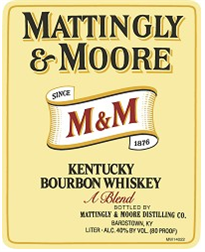 Mattingly & Moore Bourbon 1.00l